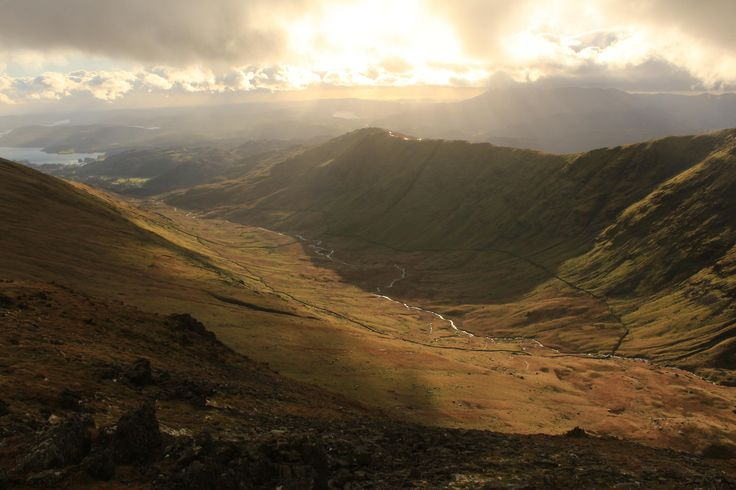 Calf and Nettle Cove from Hart Crag. Lake District [5184  3456][OC]