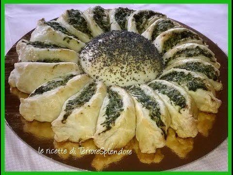 Torta salata girasole - YouTube