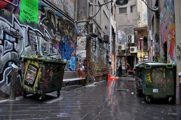 Alleyway street art, Melbourne
