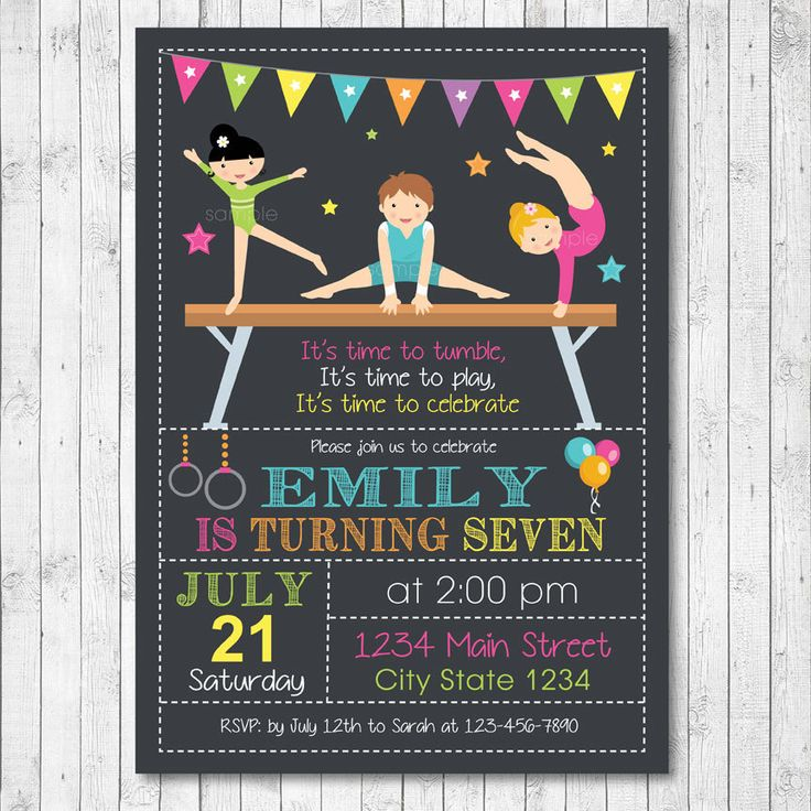 58 Best Birthday Invitations Images On Pinterest Filing