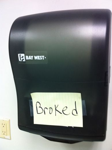 Broked. Make sure children all over the world know the RIGHT way to say this…