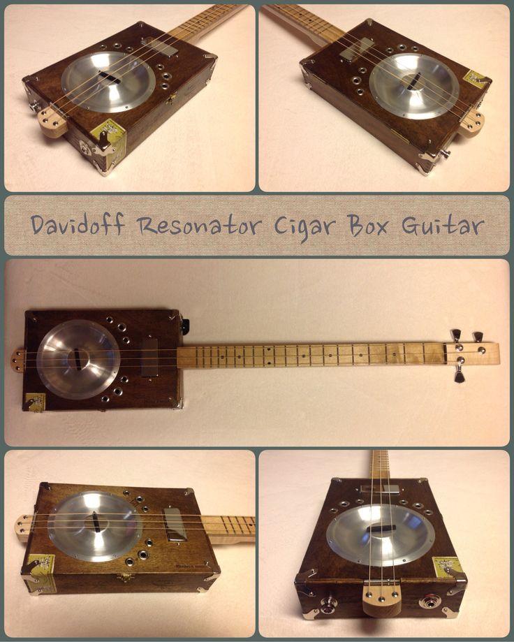 Davidoff Resonator Cigar Box Guitar  sc 1 st  Pinterest & 258 best Cigar box guitar images on Pinterest | Cigar boxes Cigar ... Aboutintivar.Com