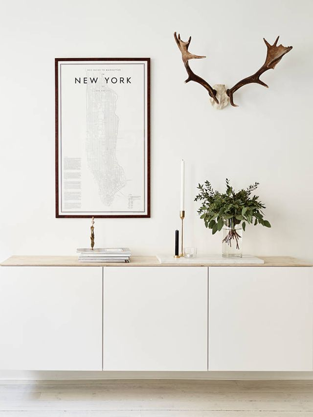 The Best of BESTA: Design Inspiration for IKEA's Most Versatile Dresser Unit | This IKEA favorite can be put in any room. From organizing your entryway, to being a modern tv console or bar cart. Here are some ideas for this budget-friendly upgrade.
