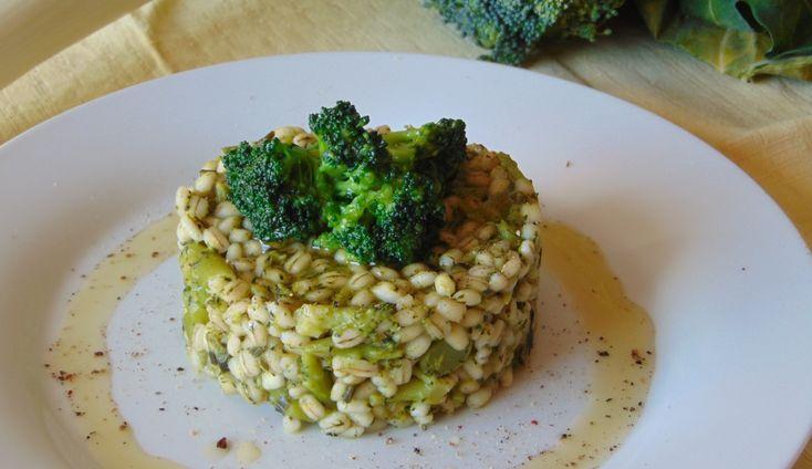 Orzotto ai broccoli-vegan