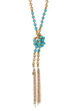 The Golden Sky Wrap Necklace