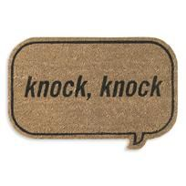 (306) Fancy - whos there doormat - a modern, contemporary doormat from chiasso