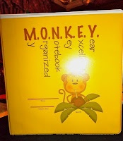 No Monkey Business: Back to School Binders & a Freebie