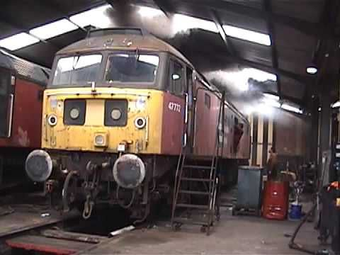 47772's first start in quite a few years `