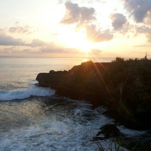 Sunset poin @nusalembongan
