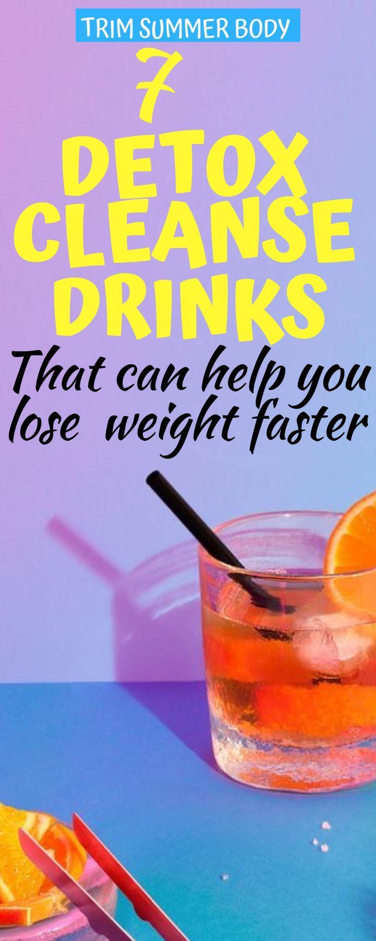 Detox Cleansing for Weight Loss – 7 beste Körperreinigungsgetränke für …   – Detox Ideen