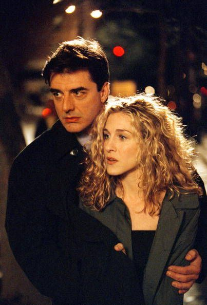 Chris Noth and Sarah Jessica Parker as Mr. Big & Carrie in Sex and the City (1998-2004)