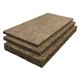 Cork Sheet Grade CR 117: 0.5000 in Thickness, 12 in x 36 in Size (W x L), 36 in Wd, 12 in Lg, Cork Insulation Sheet