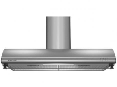 Depurador de Ar Brastemp Inox 80cm BAT80ARANA com as melhores condições você encontra no site do Magazine Luiza. Confira!