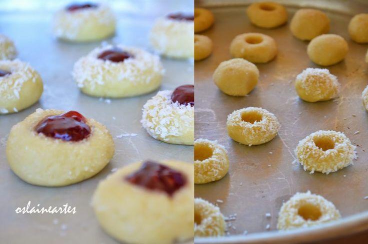 Biscoitos Recheados com Geleia