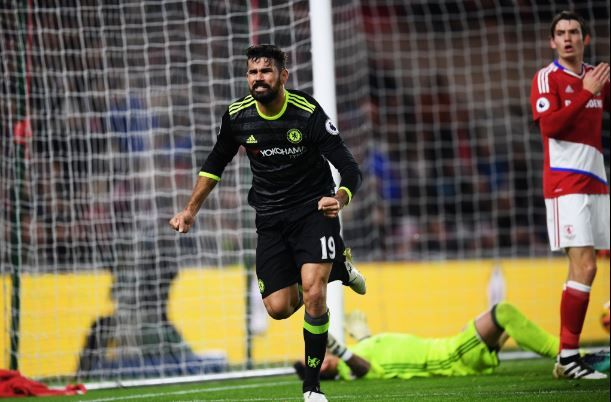 Middlesbrough 0-1 Chelsea