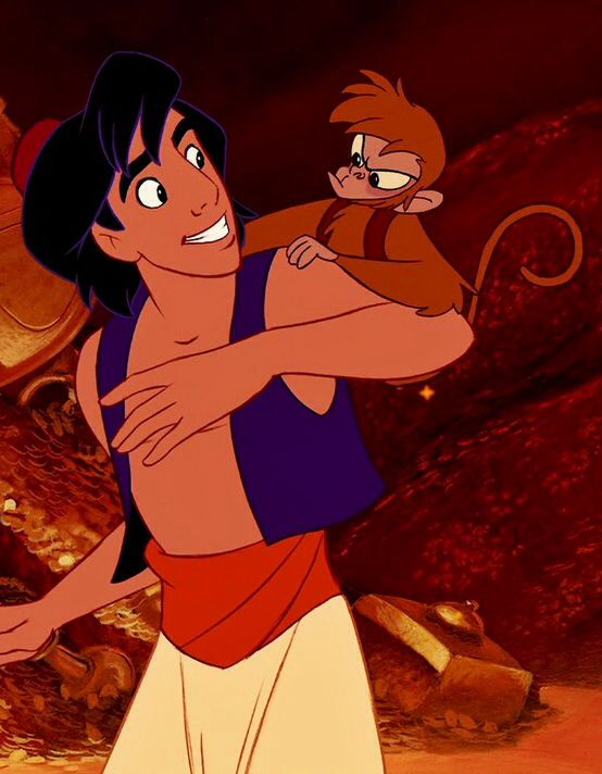 Aladdin & Abu. <3