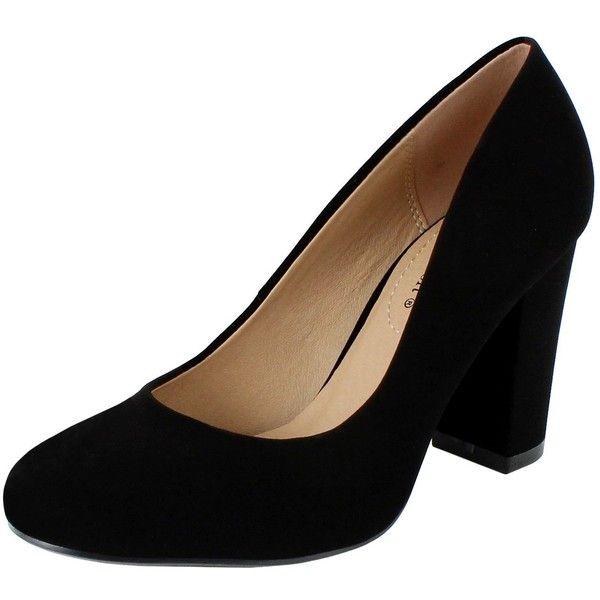 shoes heels, Chunky heel pumps