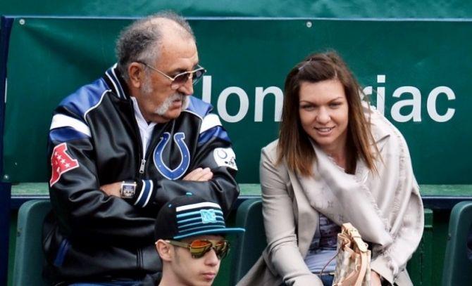 Cadou de la Ion Țiriac: Simona Halep, pe afișul oficial al turneului de la Madrid, alături de Roger Federer - FOTO | DC News | De ce se intampla