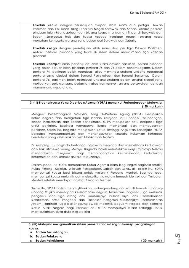 Soalan Jawapan Kertas 3 Sejarah Spm 2014 School Work Exam School
