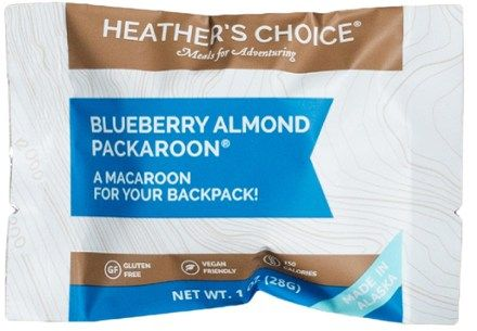 Heather's Choice Packaroons – 1 Serving Blueberry Almond