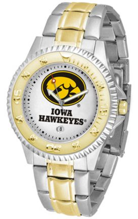 Iowa Hawkeyes Competitor Two Tone Men's Watch