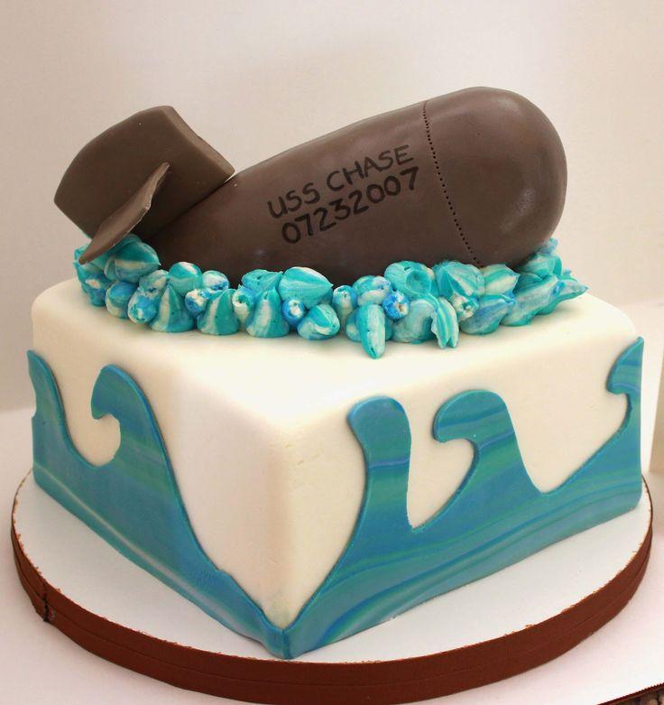 Submarine Cake Images