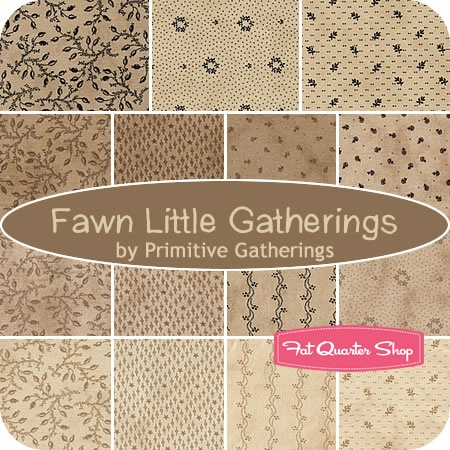 #Primitive Gatherings for Moda Fabrics; What an awesome set of patterns.