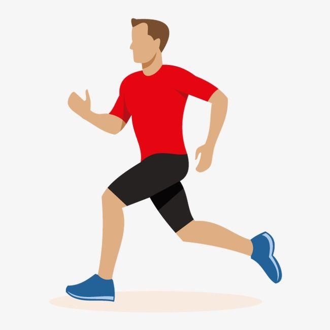 Vector Running Man Running Man Running Illustration Running Clipart
