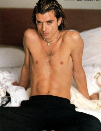 Gavin Rossdale Shirtless original clipping magazine photo 1page ...