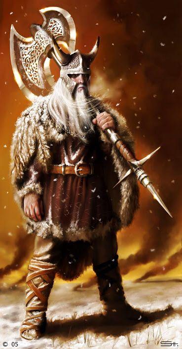 Ve- mito nórdico: dios del espíritu. Él era el hermano más joven de Odin y Vili. Él ayudó a la derrota Ymir y dio a los humanos semblante, el habla, el oído y la vista.