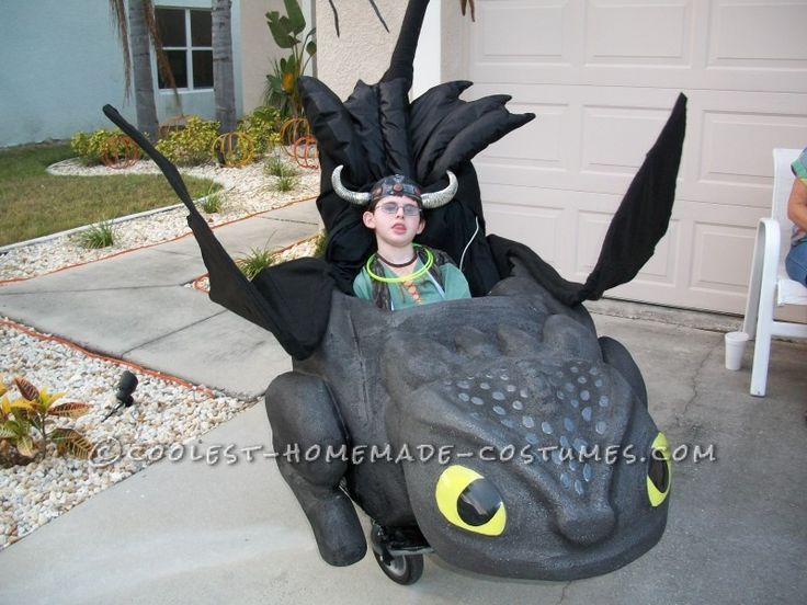 Awesome Toothless and Hiccup Wheelchair Costume ... This website is the Pinterest of costumes