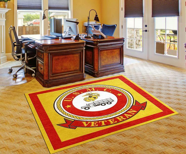 United States Marine Corps Veteran Rug