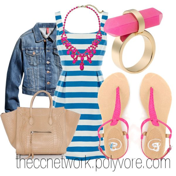 """Preppy Summer Cookout Outfit"" by theccnetwork on Polyvore"