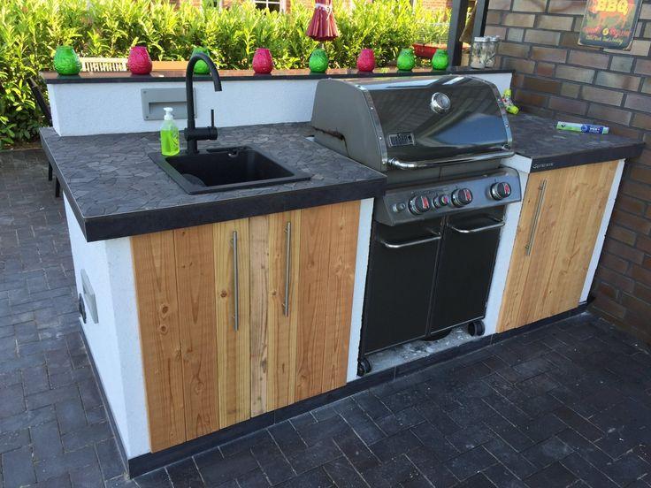 Die besten 25 grillplatz ideen auf pinterest grillplatz im freien grillen im freien und - Fliesen abschlussleiste anbringen ...