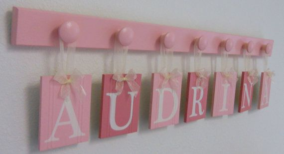 Baby Nursery  Baby Wall Letters Boutique Sign Name by NelsonsGifts, $37.00