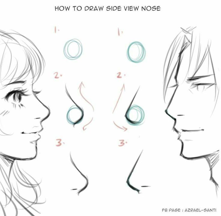 How To Draw Comics Nose Drawing Anime Drawings Tutorials Drawings
