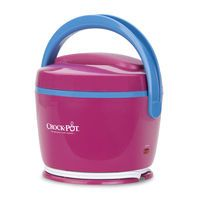 Hot lunch is back with the Crock-Pot® Lunch Crock® Food Warmer. Plus, it comes in fun colors, like magenta & sky blue. Get yours today! #CrockPot #SlowCooker #LunchCrock