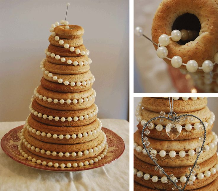 I Think I Like The Ring Of Pearls On The Kransekake