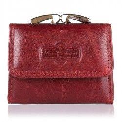Czerwone portfele damskie, portmonetki damskie w www.supergalanteria.pl