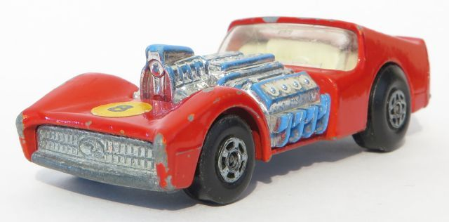 1/64 diecast collector: Matchbox Lesney ROAD  DRAGSTER no.19
