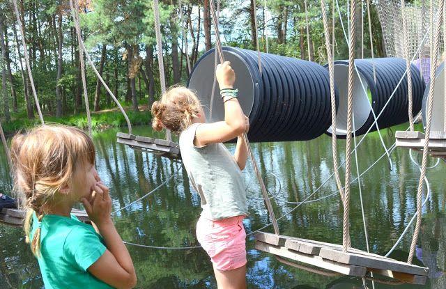 mama van vijf: hindernissenparcours zilvermeer Mol
