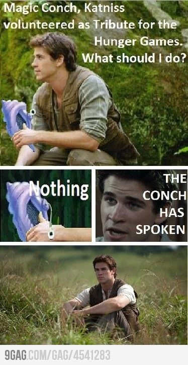 spongebob + Hunger Games= perfectShells, Bobs, The Hunger Games, Magic Conch, A Real Man, Book, Hungergames, Hunger Games Humor, So Funny