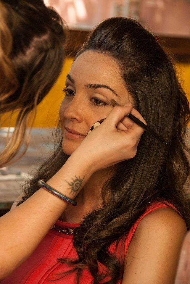Make-up per il video aziendale della Galup