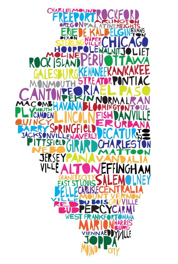 illinois = home <3 Now if only they made the font a bit smaller so they could be more accurate (no CL, Woodstock, Aurora, St. Charles, Bollingbrook, etc.?)