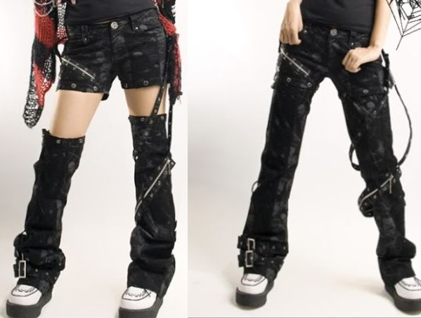 punk jeans | Product Review: Punk Rave Snap Pants to Shorts | Dramas Whoo!