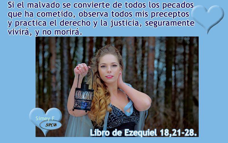 Salmos Proverbios y Citas Bíblicas: Cuando el justo se aparta de su justicia, comete e...