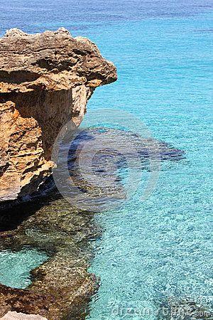 Beautiful mediterranean beach in Mallorca, Spain