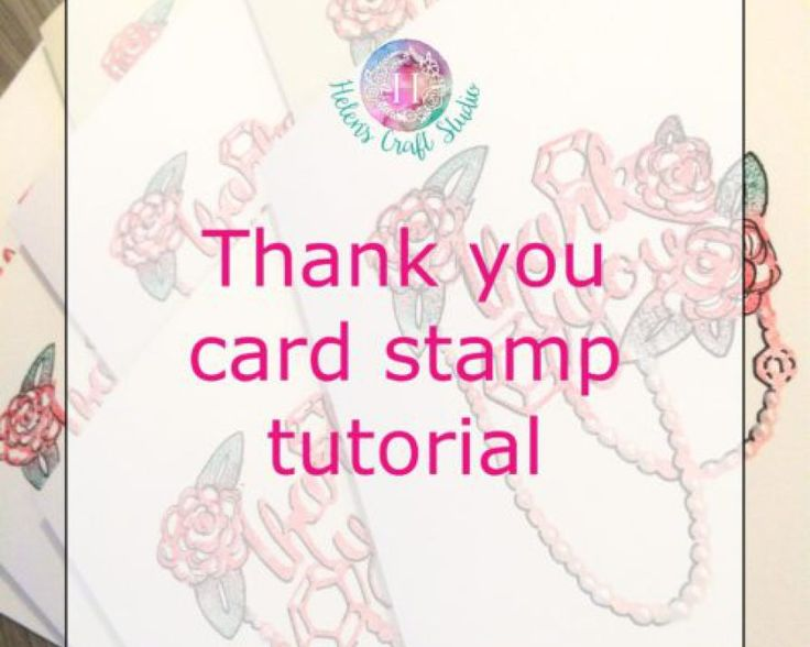 1000 Ideas About Thank You Card Template On Pinterest