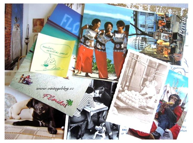 Vintage postcards   www.vintageblog.cz