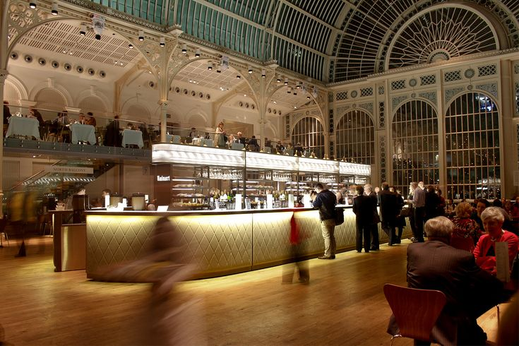 Paul Hamlyn Hall Champagne Bar in the Royal Opera House - Covent Garden, London #B3Designers